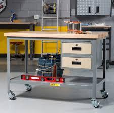 garage workbench steel garage work benches storage benchesgarage