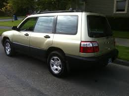 gold subaru legacy 2001 subaru forester for sale awd auto sales