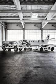 lamborghini private jet bstn nike af 100 campaign jet cars u0026 can ams hypebeast