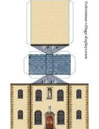 cardboard model house template printable model card houses