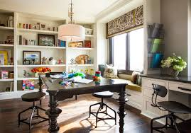hamptons inspired luxury home craft room before and after san