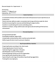 The Best Resume Examples by The Best Resume Samples For President Of A Company
