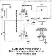 winch wiring diagram two solenoid winch wiring diagrams collection