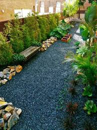 Bamboo Garden Design Ideas Modernizar El Bambú Paisaje Ideas Bancos De Jardín Piedras
