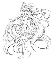 unique hatsune miku coloring pages 17 for your picture for
