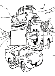 Disney Cars Coloring Pages Free Large Images Arts Pinterest Within Cars Coloring Pages