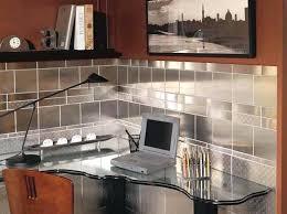 kitchen backsplash stainless steel tiles stainless steel kitchen backsplash snaphaven