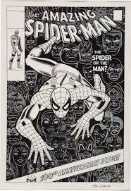 amazing spiderman 100 romita recreation jpg 2063 3000 mint