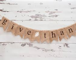 give thanks banner etsy