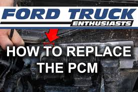 ford f150 ecm how to replace powertrain module in ford f 150