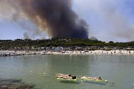 Saskatchewan Wildfire Evacuations by Wildfires Force Evacuations Along The French Riviera The Atlantic