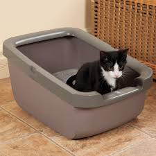 catit litter pan with rim cat litter box