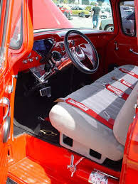 Chevy Truck Interior Vintage Good Old Fashioned Reliable