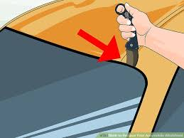 how to replace your automobile windshield with pictures