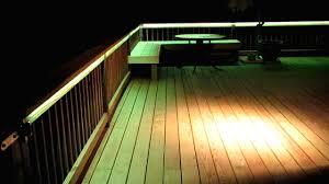 Recessed Deck Lighting Led Lights For Decking With Dekor Led Recessed Down Provide Subtle