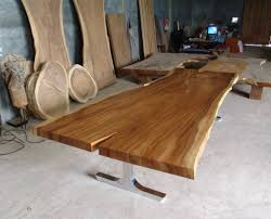slab dining table image of wood slab dining table top full