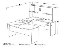 Bestar U Shaped Desk Harmony U Shape Computer Workstation Computer Desk Bestar