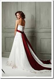 Red Sash Wedding Dresses With Red Sash Pictures Ideas Guide To Buying