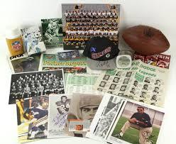 lot detail 1940 u0027s 90 u0027s football memorabilia collection lot of