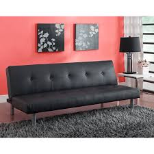 Futons At Target Dhp Nola Tufted Futon Black Walmart Com