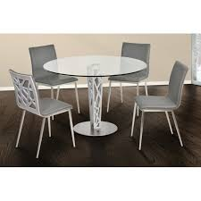 Dining Table Ls Living Dining Table In Brushed Stainless Steel