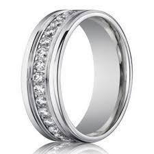 mens eternity rings 4mm men s designer white gold diamond eternity ring channel set