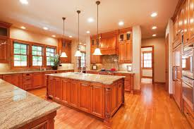 Light Wood Kitchen Cabinets - 52 enticing kitchens with light and honey wood floors pictures
