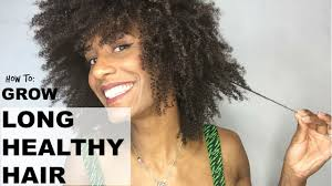 how to grow afro hair on the top while shaving the sides 7 tips to help you grow long healthy natural kinky afro hair