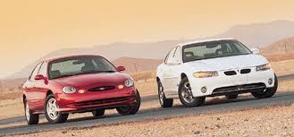 1996 Ford Taurus Interior 97 Ford Taurus Sho Vs U002797 Pontiac Grand Prix Gtp Road Test