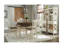 casual dining room tables signature design by ashley bolanburg casual dining room group