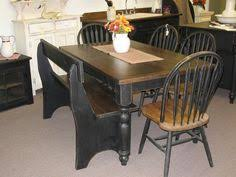 Farmhouse Kitchen Table Sets by Draw Leaf Table In Lamp Black And Java Vintage Drawing Leaf