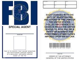 7 best images of id badges templates printable printable fbi