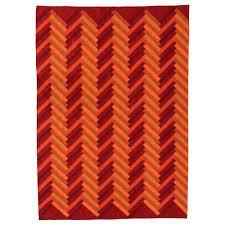 orange and grey area rug flooring alluring smooth ikea shag rug for fancy floor decor