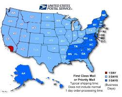 usps class shipping map usps class delivery map my