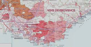 Provence Map Find The Vine Wine Region Provence