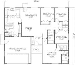 1 story 4 bedroom house plans four bedroom house plans 4 bedroom floor plans 1 bedroom house