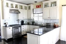 Small Kitchen Interiors Kitchen Designs White Kitchen Interior Design Chandelier Antique