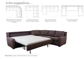 latest comfortable sectional sleeper sofa comfort sleeper