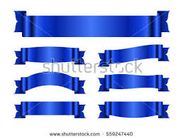 white blue ribbon blue ribbon banners free vector stock graphics images