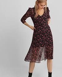 point d u0027esprit fit and flare midi dress express