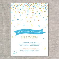 Baby Shower Invitation Cards Sprinkle Baby Shower Invitations Theruntime Com