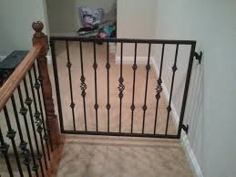 Baby Gate For Stairs With Banister Baby Gates For Stairs With Railings Extra Long Baby Gates For