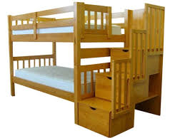 King Bunk Bed Bedz King Bunk Bed With Stairs And 3 Drawers