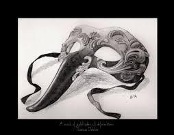 venetian bird mask mask venetian pencil and in color mask venetian