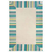 Area Rug Aqua 8 X 10 Blue Outdoor Rugs Rugs The Home Depot