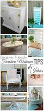 beginner and first time furniture painting ideas with tutorials