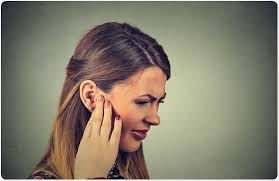 hair style and gap between chin and ear lobe what is tinnitus