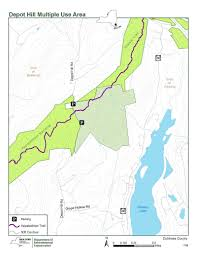 New York State Map Pdf by Depot Hill Multiple Use Area Nys Dept Of Environmental Conservation