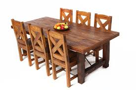Furniture Square Oak Dining Room Table And  Black Leather Chairs - Dining room chairs oak