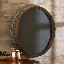 reclaimed barrel head chalkboard wine enthusiast